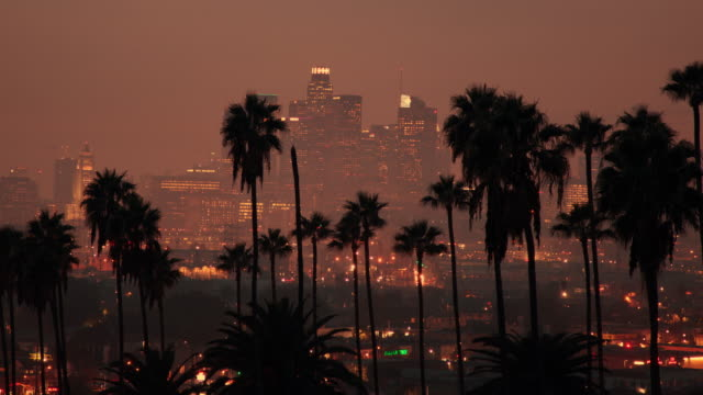 downtown los angeles - 4k - hollywood stock videos & royalty-free footage