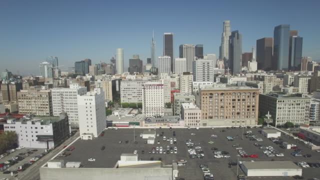 ロサンゼルス ・ ダウンタウンのエアリアル