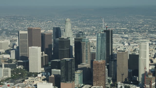 Downtown Los Angeles From Above