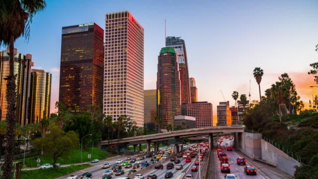 Downtown Los Angeles skyline, USA