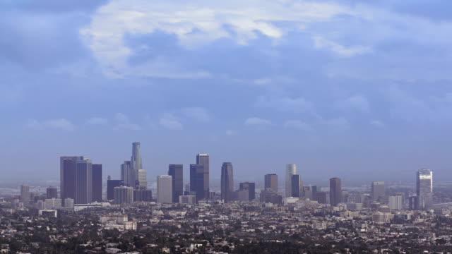 skyline di Los Angeles centro città