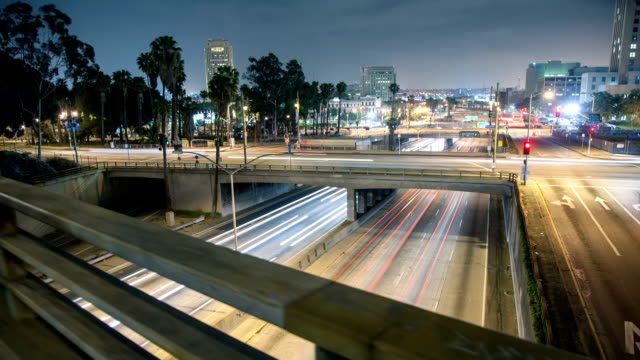 Centro di Los Angeles Time Lapse