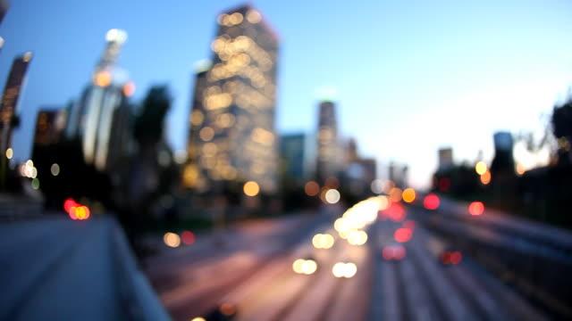 HD: Der Innenstadt von Los Angeles (Timelapse