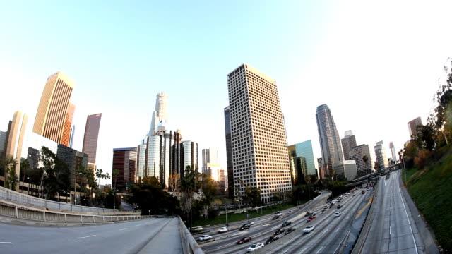 hd :ロサンゼルスのダウンタウン - エンジェルス国有林点の映像素材/bロール