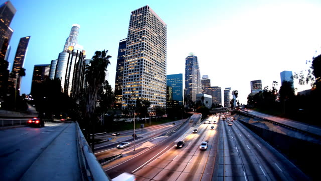 hd: downtown los angeles - angeles national forest stock videos and b-roll footage