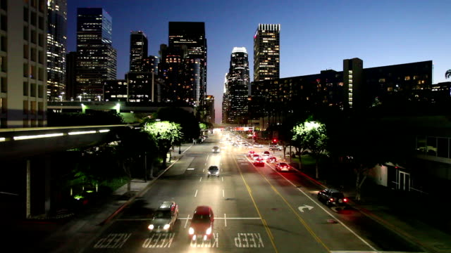 downtown los angeles - ozgurdonmaz stock videos and b-roll footage