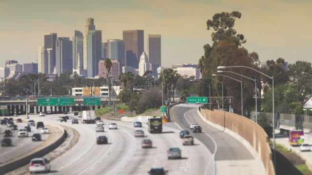 downtown los angeles - beverly hills california stock videos and b-roll footage