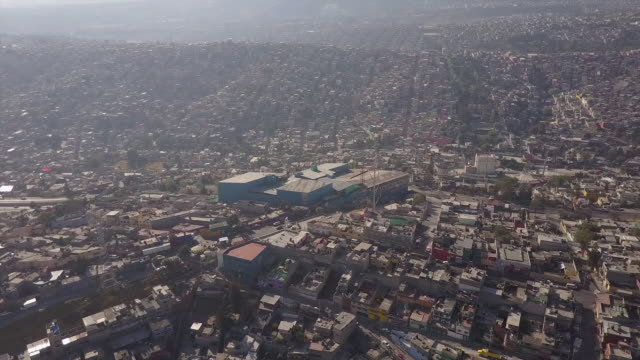 Downtown Mexico City, aerial view