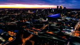 Downtown Minneapolis TimeLapse - Day to Night