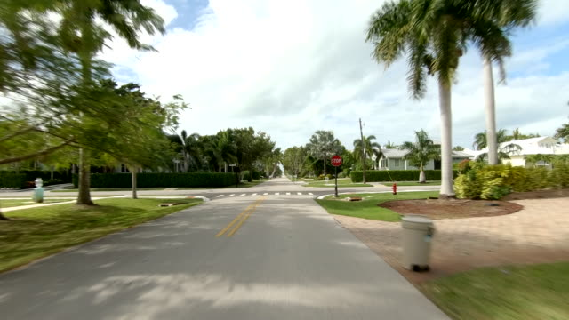 downtown naples time lapse front view sun florida - naples florida stock videos & royalty-free footage