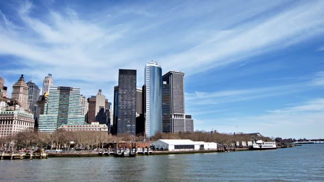ニューヨーク市ダウンタウン - 運河点の映像素材/bロール