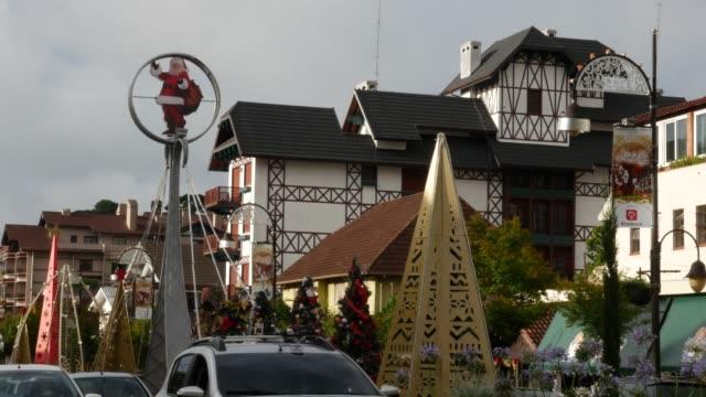 リオグランデ・ド・スルのグラマドのダウンタウン - リオグランデドスル州点の映像素材/bロール