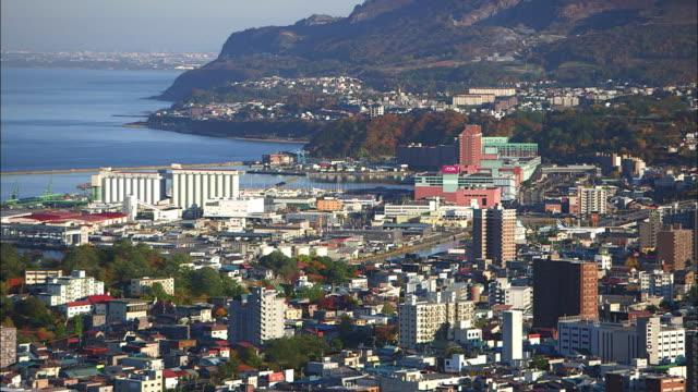 Downtown Otaru City, Hokkaido, Japan