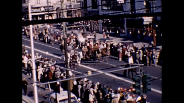 1953 Downtown Parade Scenes