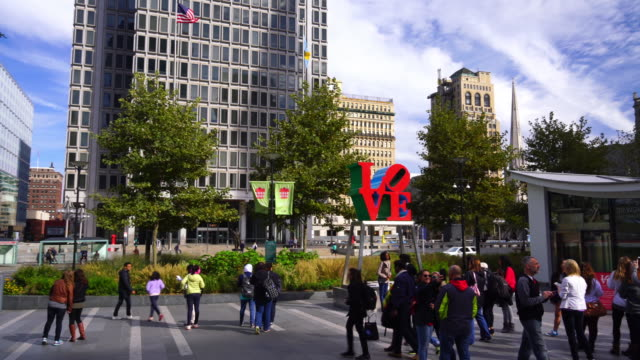 downtown philadelphia - philadelphia pennsylvania stock videos & royalty-free footage