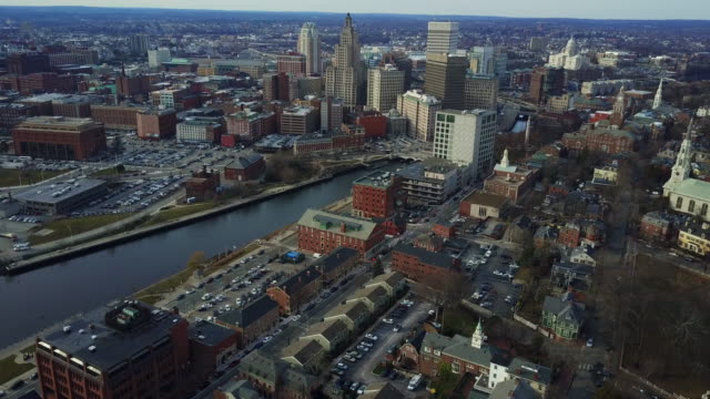 Downtown Providence, aerial