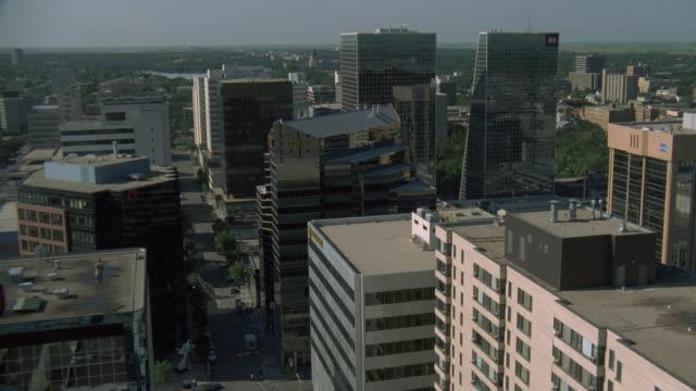 downtown regina, canada - saskatchewan stock videos and b-roll footage