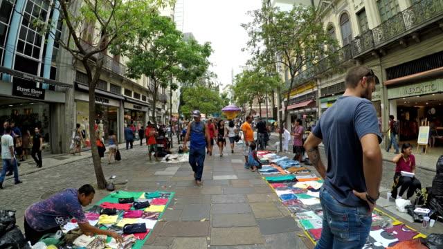 centrala rio de janeiro - marknadsförsäljare bildbanksvideor och videomaterial från bakom kulisserna
