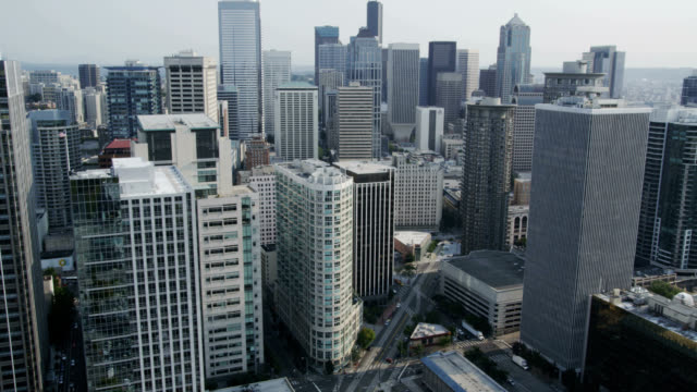 Downtown Seattle Aerial