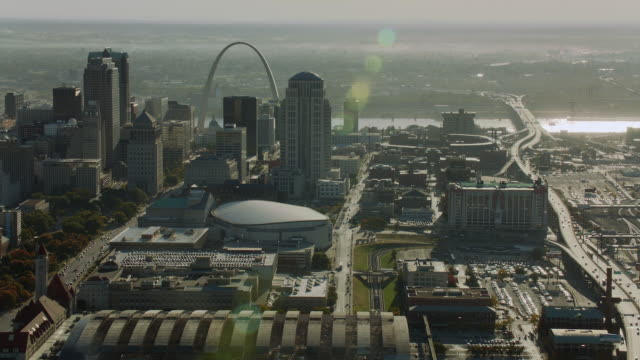 Downtown St Louis Aerial View