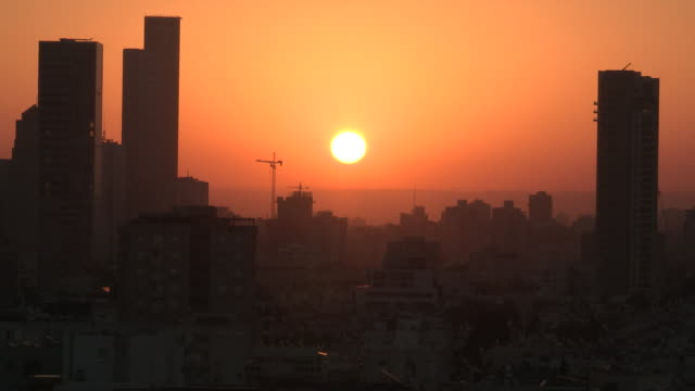 Downtown Sunrise, Tel Aviv, Israel