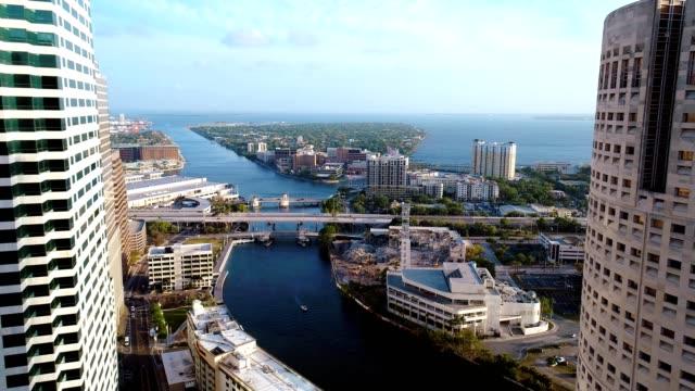 downtown tampa - florida stati uniti video stock e b–roll