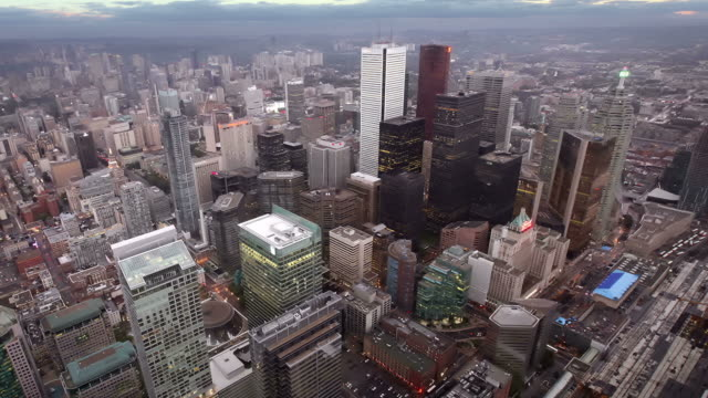 downtown toronto, canada - toronto stock videos and b-roll footage