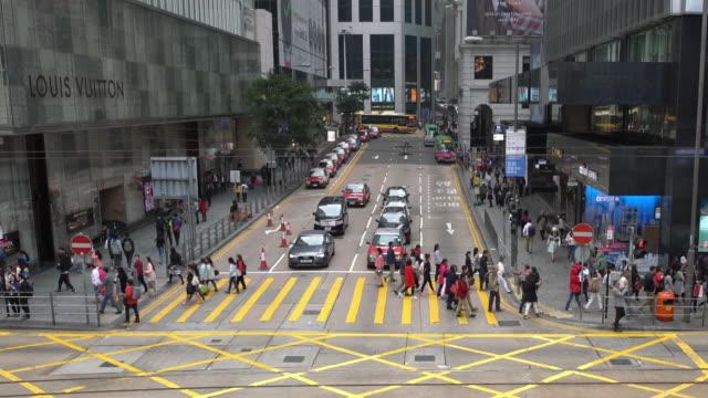 Downtown Traffic/ Hong Kong, China