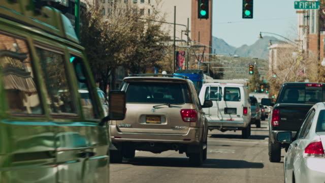 Downtown Tucson Arizona Traffic