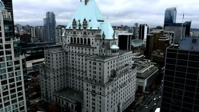 Downtown Vancouver Zeitraffer tagsüber