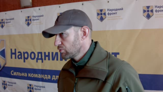 A dozen men who battled pro Russian rebels on the frontline in east Ukraine are now running for parliament in this Sundays general election