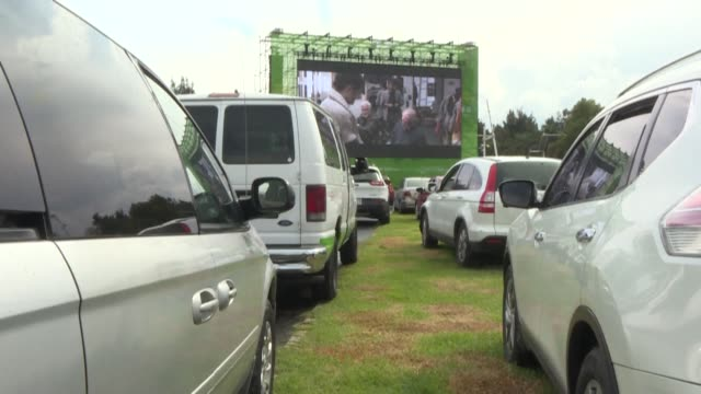 MEX: F1 racetrack becomes a drive-in cinema