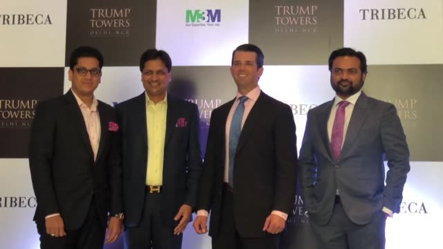 Dozens of property investors and their families will be treated to dinner with Donald Trump junior in Delhi this week after snapping up flats in a...