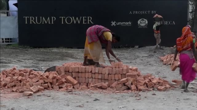 dozens of property investors and their families will be treated to dinner with donald trump junior in delhi this week after snapping up flats in a... - week stock videos and b-roll footage