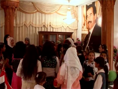 dozens of sunni arabs marked the birthday of iraq's executed former president saddam hussein on tuesday by reading poems and verses from the koran in... - former stock videos & royalty-free footage