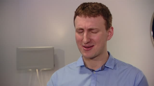 dr aleksandr kogan saying he had no idea cambridge analytica's work would be used in donald trump's presidential campaign - media interview stock videos and b-roll footage