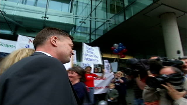 dr andrew wakefield disciplinary hearing over acting unethically during mmr research england london euston road general medical council ext andrew... - general medical council stock videos & royalty-free footage