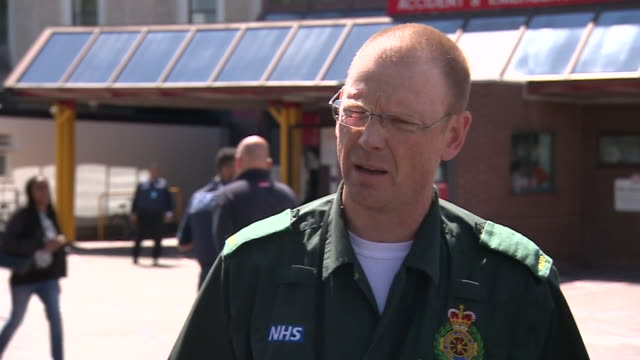 dr david ratcliffe medical director of north west ambulance service details the response of the service to the bomb attack of may 22nd manchester uk - popular music tour stock videos and b-roll footage