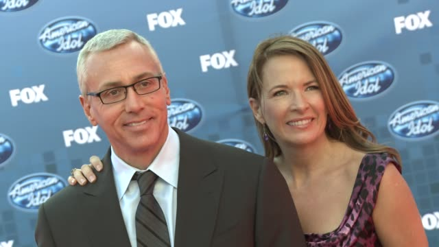dr drew at the fox's 'american idol 2011' finale results show at los angeles ca - results show stock videos & royalty-free footage