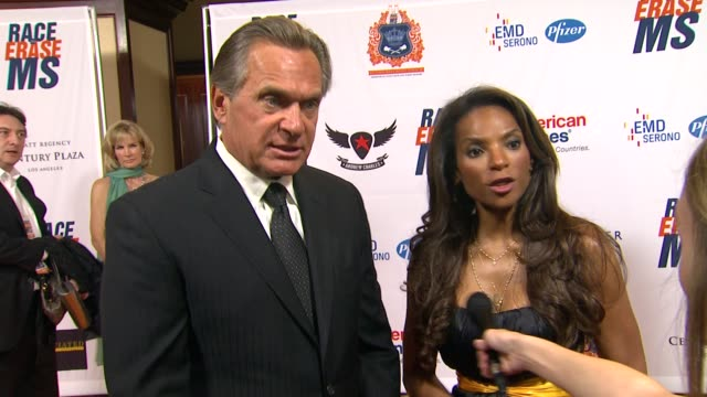 Dr Drew Ordon Dr Lisa Masterson on being a part of the night and supporting Race to Erase MS at the The 18th Annual Race To Erase MS CoChaired By...