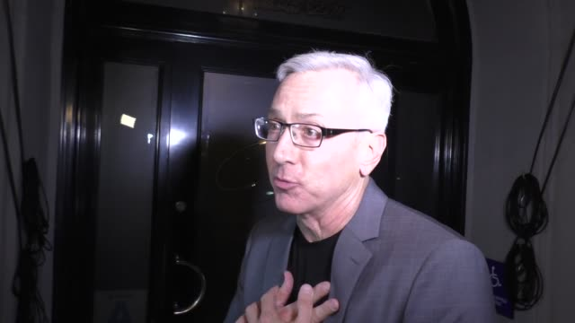 interview dr drew pinksy talks about ozzy osbourne's sex addiction at craig's restaurant in west hollywood in celebrity sightings in los angeles - ozzy osbourne stock videos & royalty-free footage