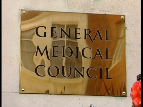 Leyland Towngate Dental practice London Dr George Vanner towards past down steps from Magistrates court building i/c Tracey Marsh interview SOT the...