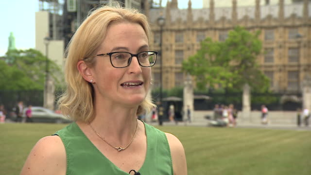 /dr hannah white of the institute for government explaining how boris johnson's decision to suspend parliament gives opposition mp's significantly... - house of commons stock videos & royalty-free footage