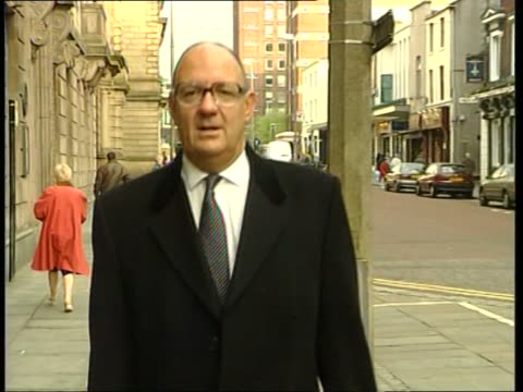 day 3 ITN Richard Henriques QC arriving at court