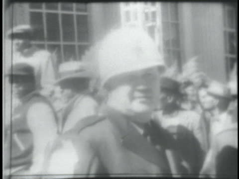 dr martin luther king leads africanamericans to the selma alabama courthouse to register to vote - selma alabama stock videos & royalty-free footage