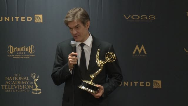 SPEECH Dr Mehmet Oz at 43rd Annual Daytime Emmy Awards at Westin Bonaventure Hotel on May 01 2016 in Los Angeles California