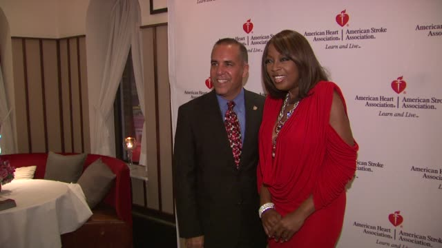 dr. ralph sacco and star jones at the star jones attends 'celebrity apprentice' premiere for american heart association at new york ny. - star jones stock videos & royalty-free footage