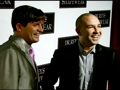 dr robert rey and bruno schiavi at the dr robert rey and bruno schiavi celebrate shapewear launch hosted by carmen electra and denise richards at... - carmen electra stock videos and b-roll footage