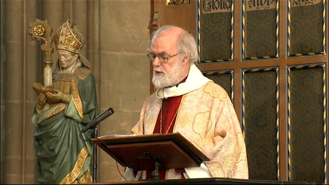 Dr Rowan Williams delivers Easter sermon at Canterbury Cathedral Dr Rowan Williams sermon SOT More than just a feeling then a passing emotion...