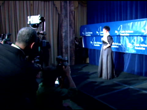 dr sheila c johnson, recipient of the lifetime achievement award at the the 2007 annual jackie robinson awards dinner at the waldorf astoria hotel in... - 生涯功労賞点の映像素材/bロール